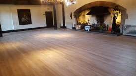 Floor sander Lytham St Annes