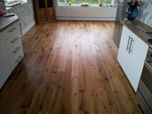 Oak flooring restoration Bolton