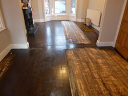 stained wood floor Southport