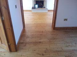 Oak floor restoration Lancashire