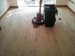 Sanding oak floors Lancashire