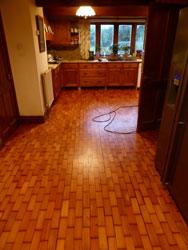 Pine wood flooring Lancashire