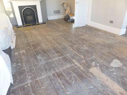 Sanding wood floors Preston