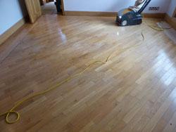 Oak floor West Lancashire