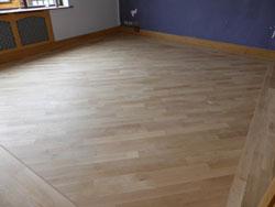 Restoring oak flooring West Lancashire
