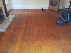 Pine Flooring Preston