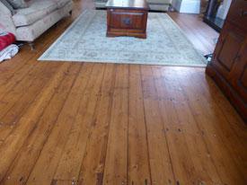 Pine Wood Floor Lancashire
