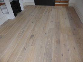 White wood finish Preston