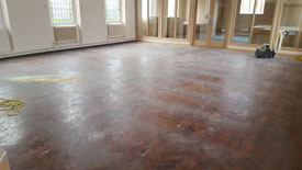 Wood floor restoration Accrington