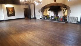 Commercial floor sander Lancashire