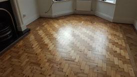 Restoring Parquet flooring Bury