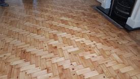 Restoring Parquet flooring Lancashire