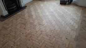 Parquet floor restoration Lancashire